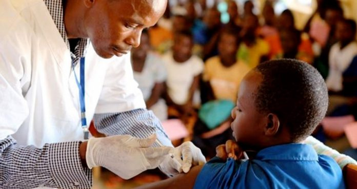 African Children Receive Malaria Vaccine