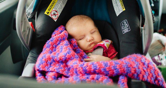 Babies Shouldn't Sleep In Car Seats AAP