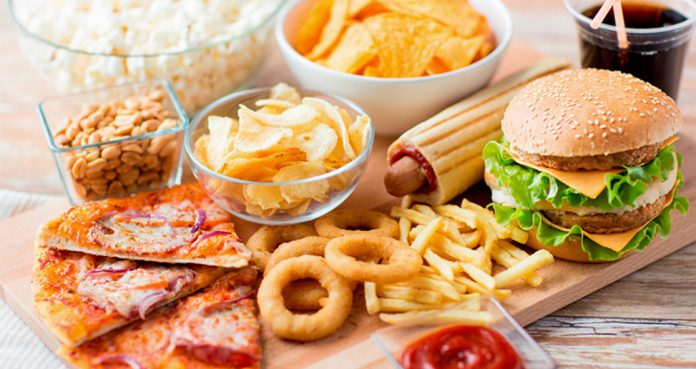 Ultra Processed Foods Promoting Weight Gain