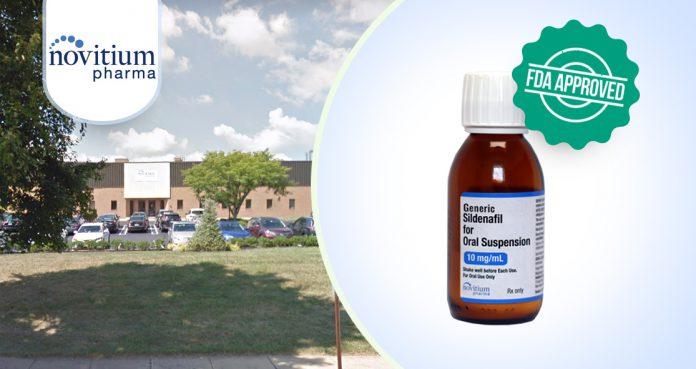 Novitium Pharma's Generic Sildenafil